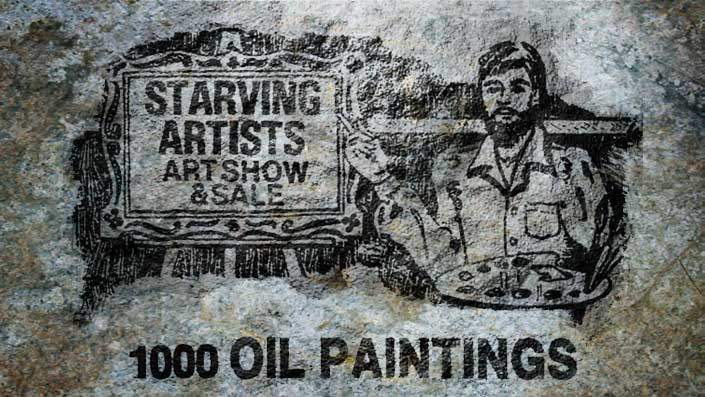 Starving Artist Sale