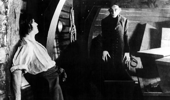 from Nosferatu, 1922