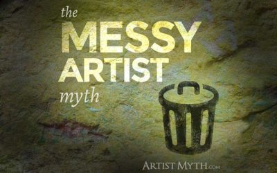 The Messy Artist Myth
