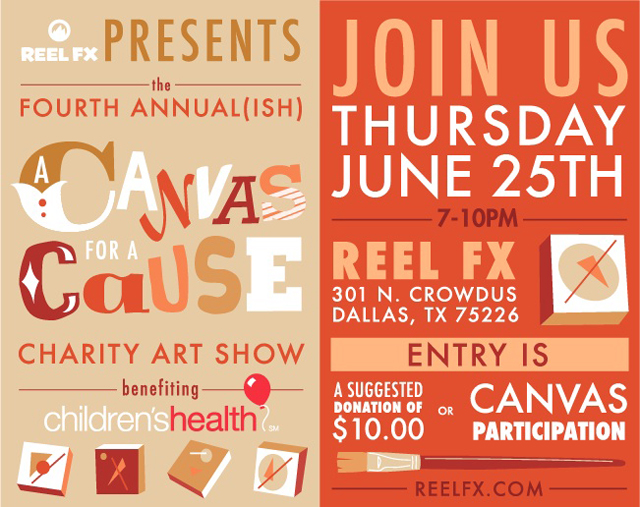 Canvas for A Cause 2015 - Flyer