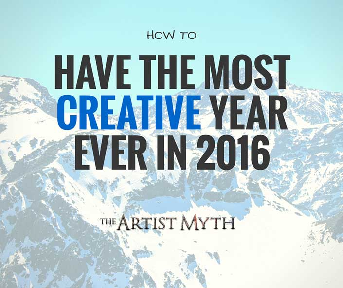 How To Have The Most Creative Year EVER in 2016