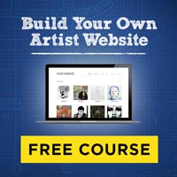 Free Build Your Own Artist Website Course