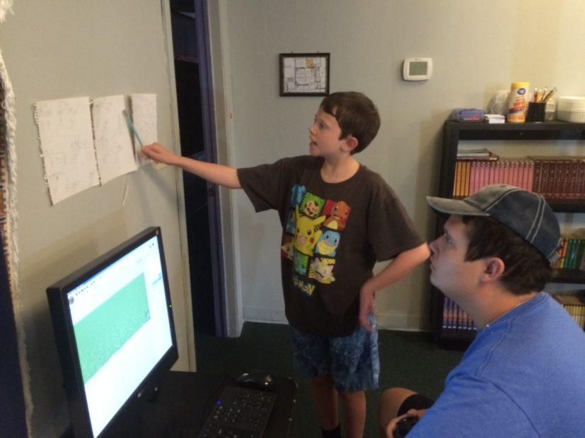 KidsAnimatingIn3DToScript